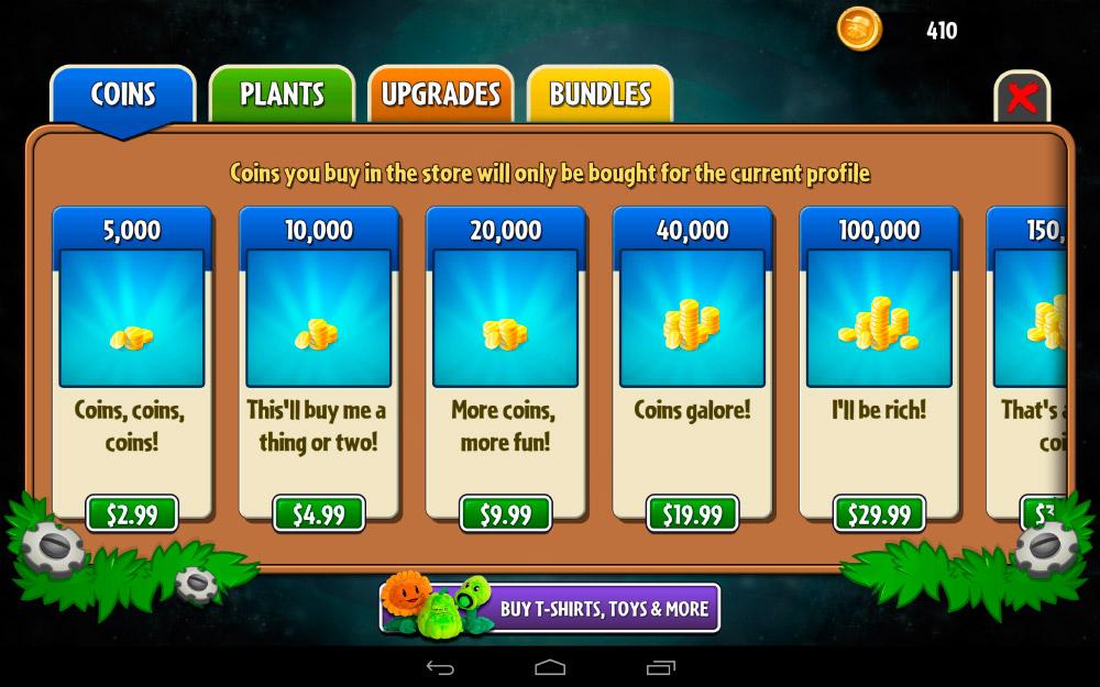 """Sistema de compras """"in-app"""" en aplicaciones gratuitas"""